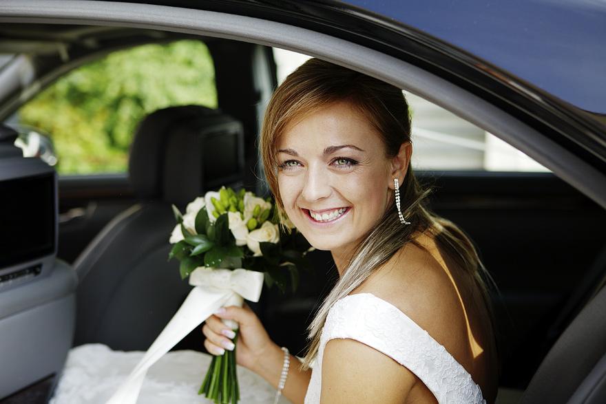 skvělá svatební fotografie nevěsty v Praze