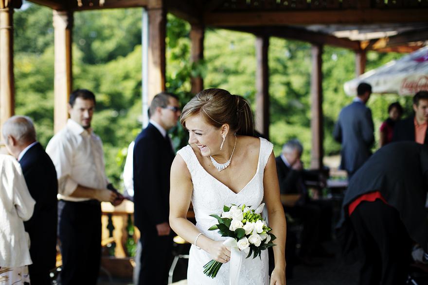 momenty ze svatby ve Viničním altánu v Praze