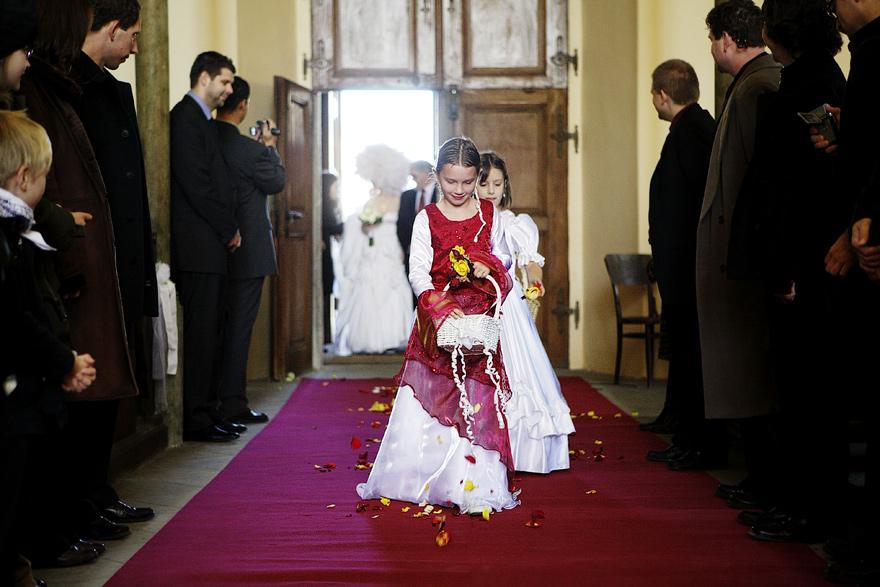 svatba v kostele v Čáslavi