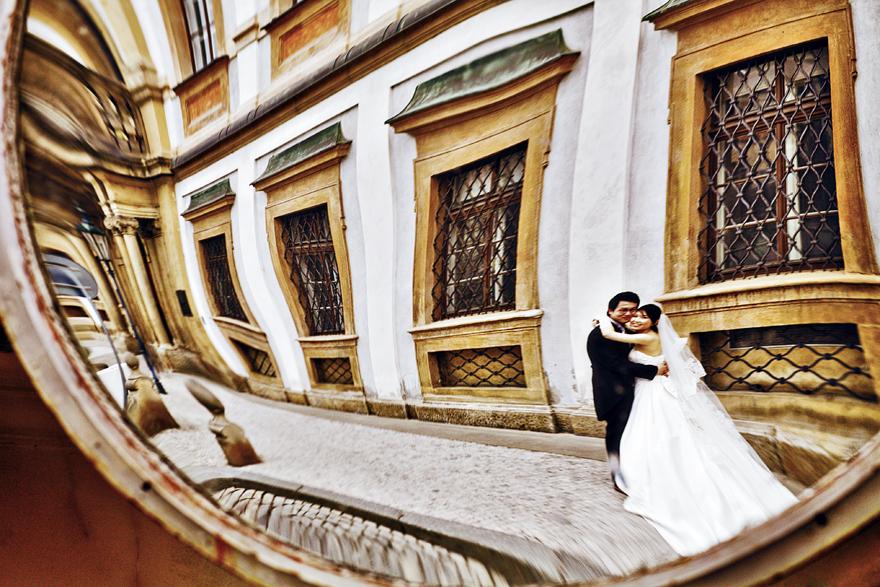 unikátní svatební fotografie v Praze