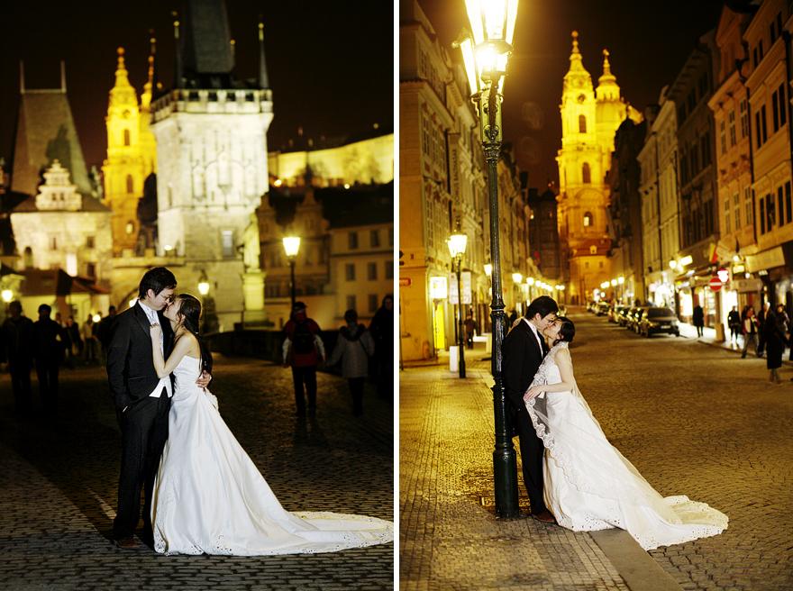 svatební fotografie na Staroměstském náměstí