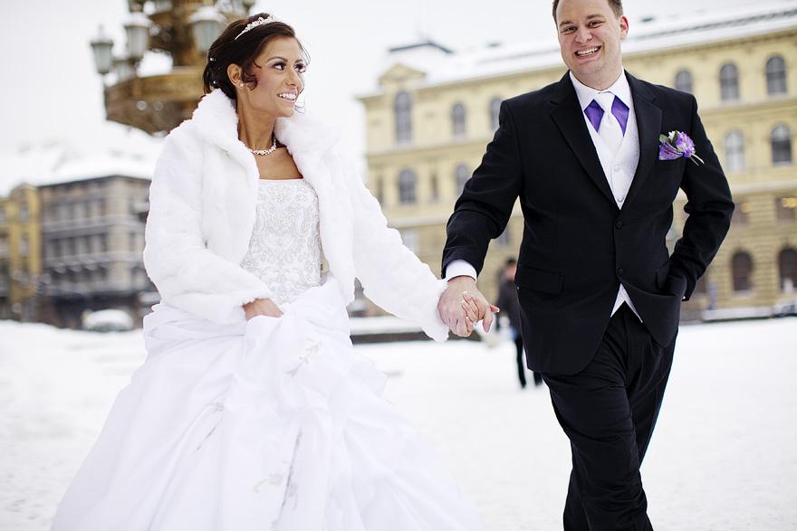 svatební momenty v Praze
