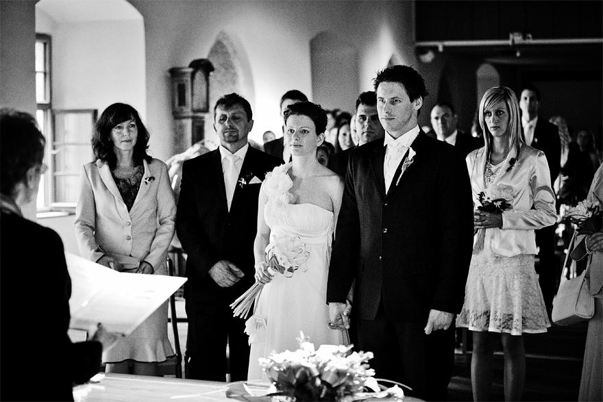 svatební obřad na Zelené Hoře