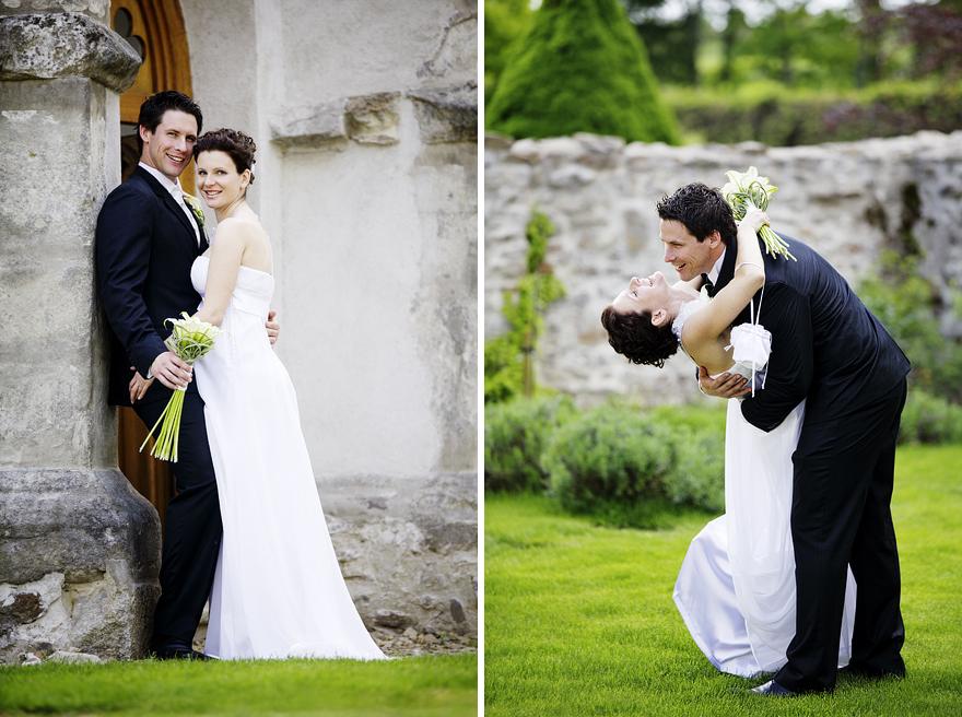 nevěsta a ženich na Zelené hoře