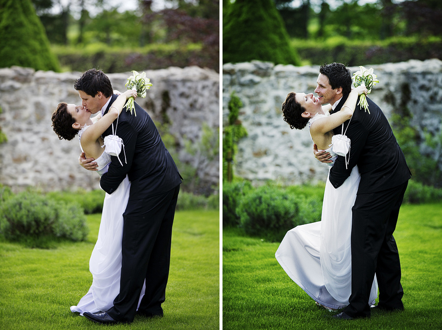 novomanželé ve Žďáru nad Sázavou