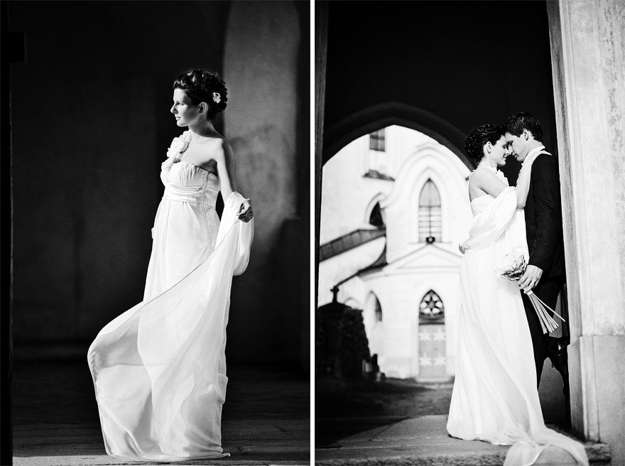 nejlepší svatbení fotografie v kostele sv. Jana Nepomuckého