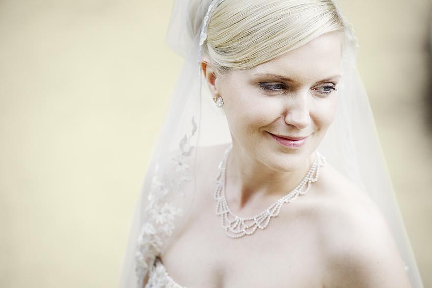 detail něžné nevěsty