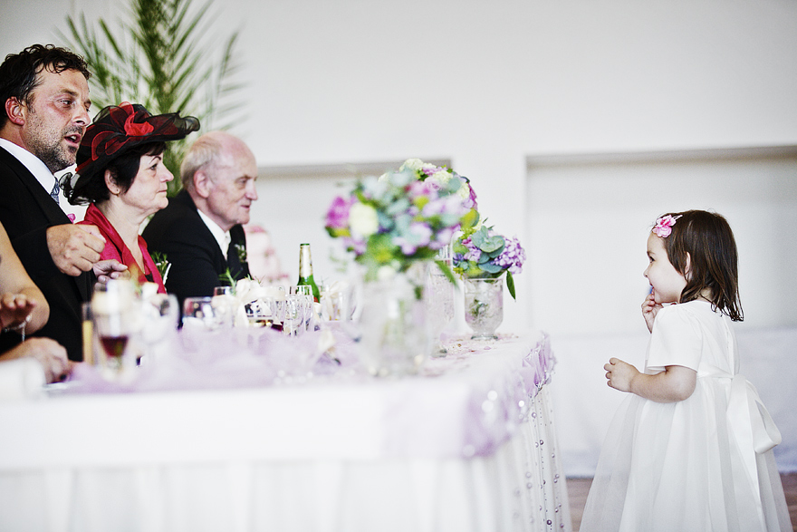 momenty ze svatební oslavy