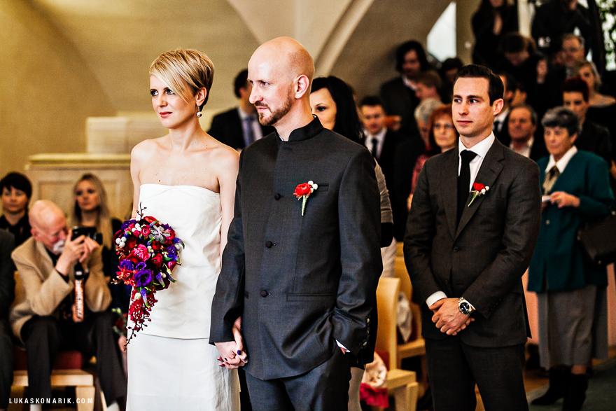 svatební fotografie na Staroměstské radnici