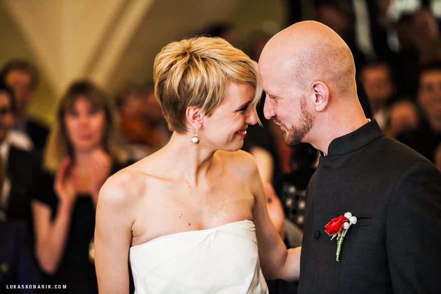 veselá svatba na Staroměstské radnici v Praze