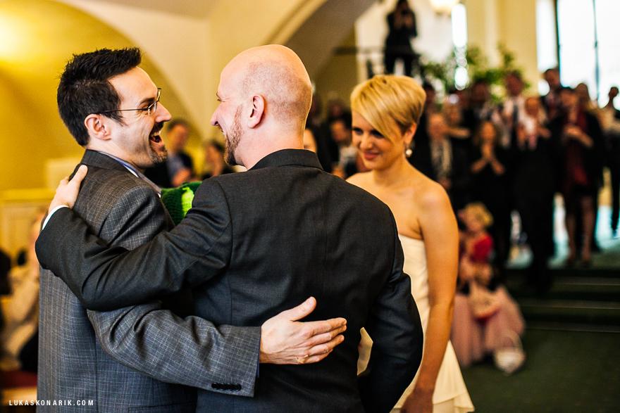 nejlepší momenty ze svatby