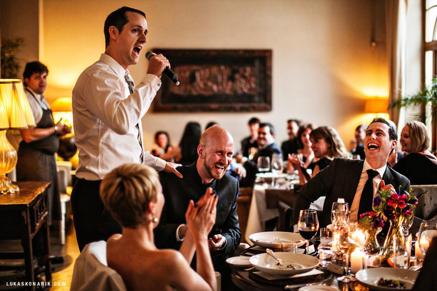 svatební řeč