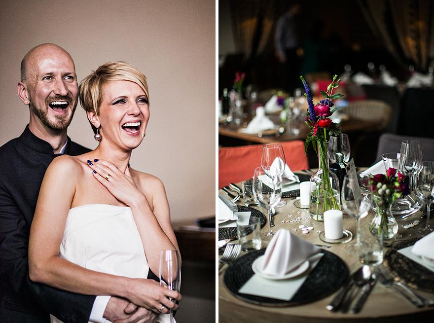 novomanželé v Cafe Sahara