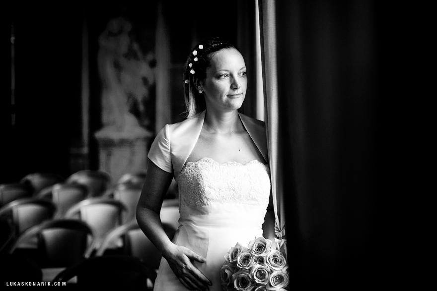 nevěsta na Libeňském zámečku