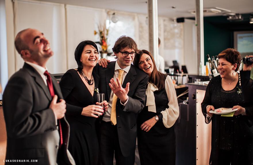 svatební zábava v hotelu Green Yacht v Praze