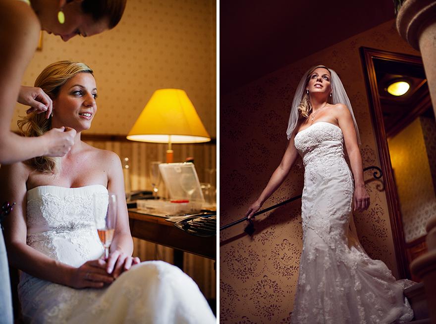 nevěsta před svatbou v St. Havel