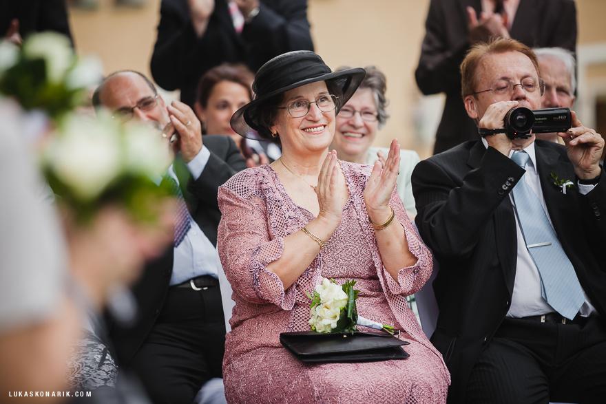 svatební hosté v St. Havel
