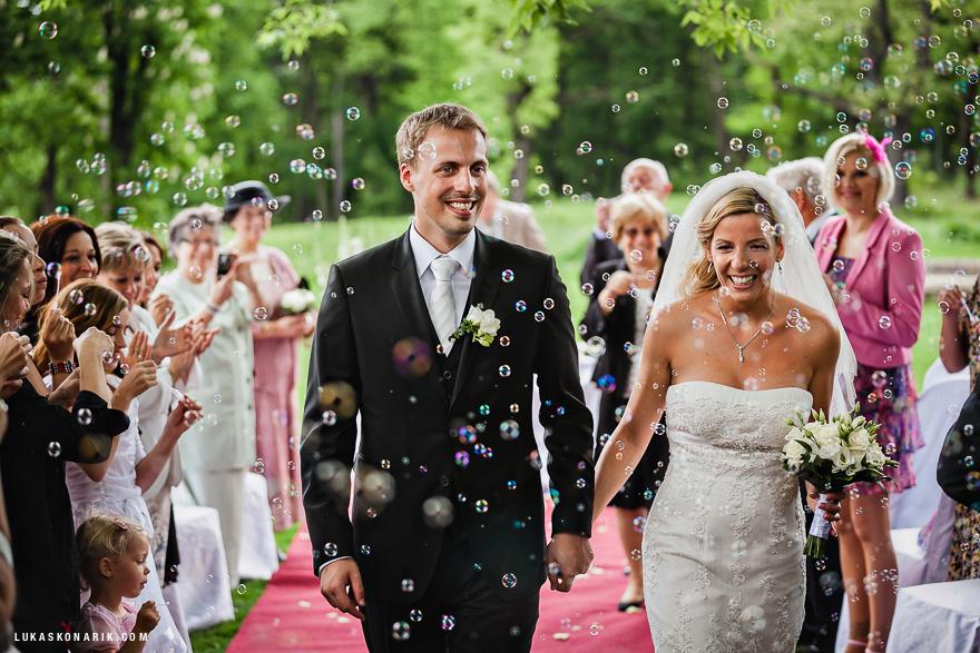 svatební obřad v St. Havel