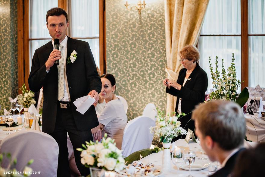 svatební řeč svědka v St. Havel