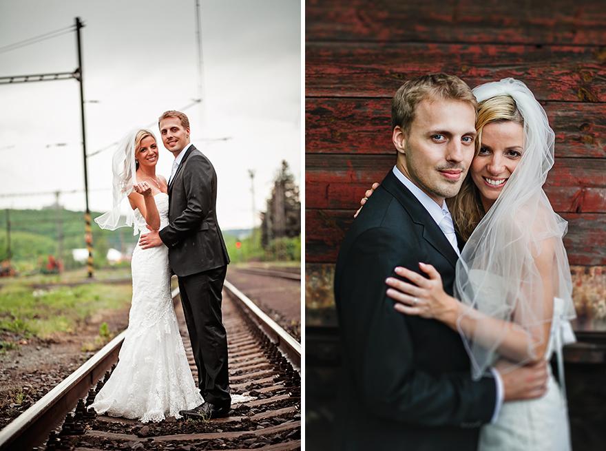 svatební fotografie u St. Havel v Praze
