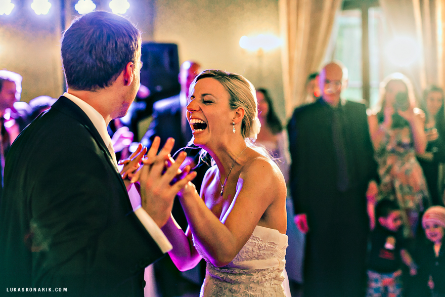 veselé svatební momenty