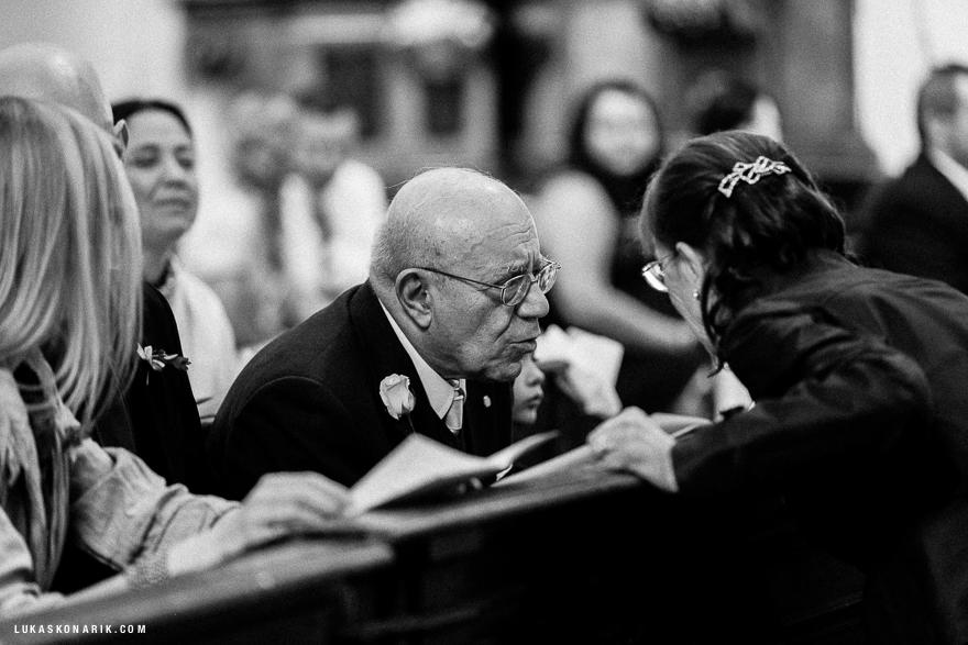 momenty ze svatebního obřadu