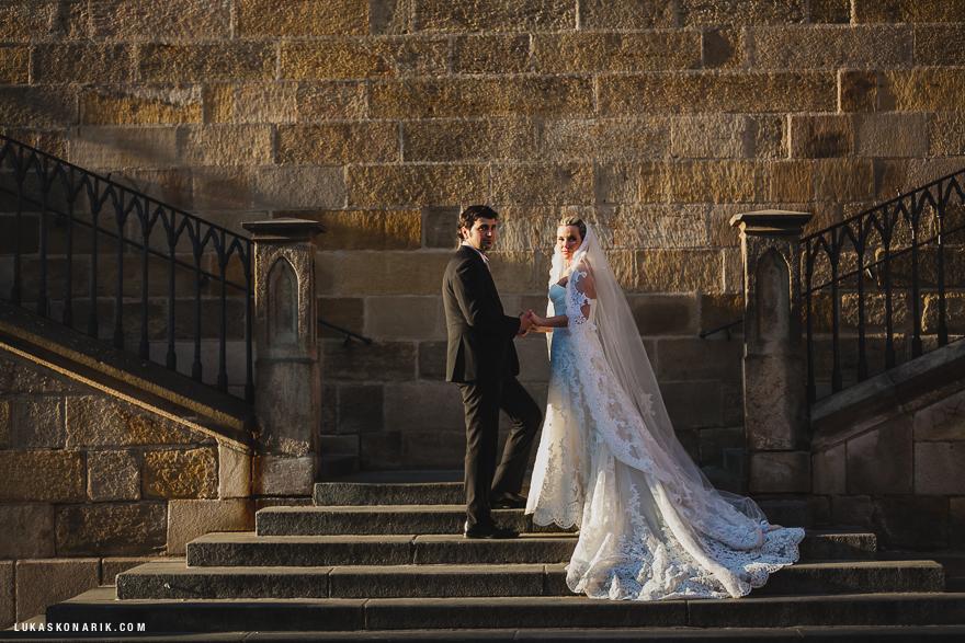 svatební fotografie v Praze
