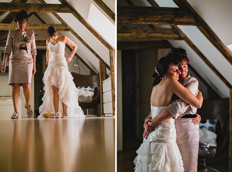 svatební fotografie přípravy