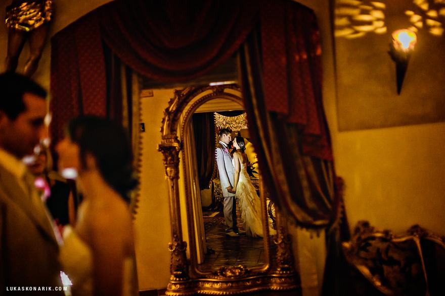 svatební fotografie v Alchymist v Praze