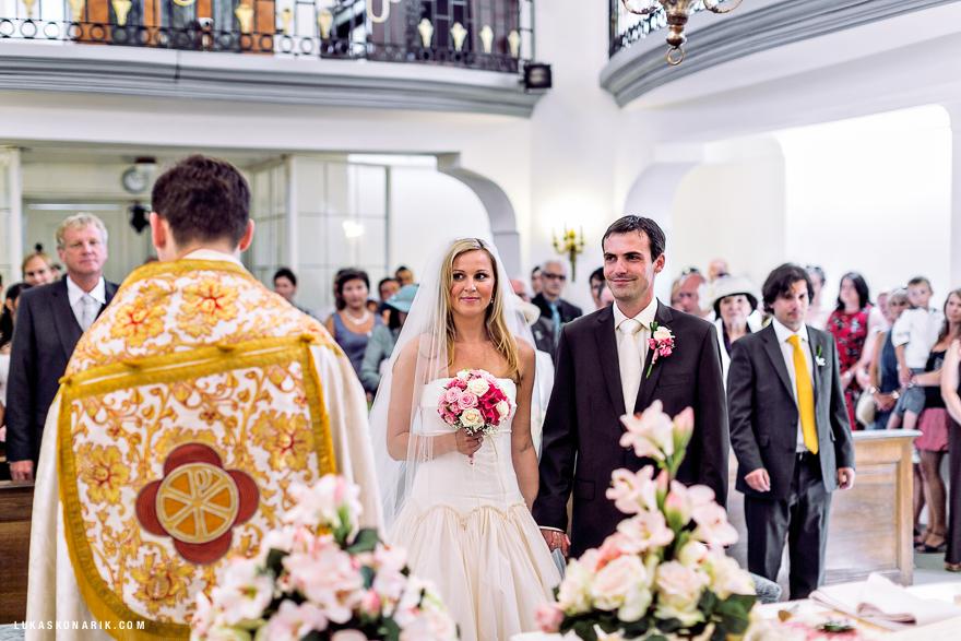 svatební fotografie zámek Kozel