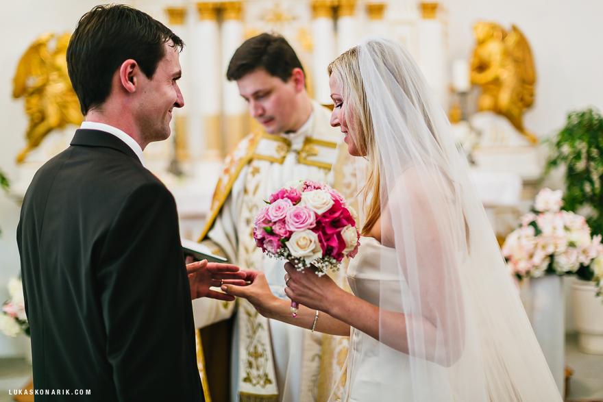 svatba na zámku Kozel