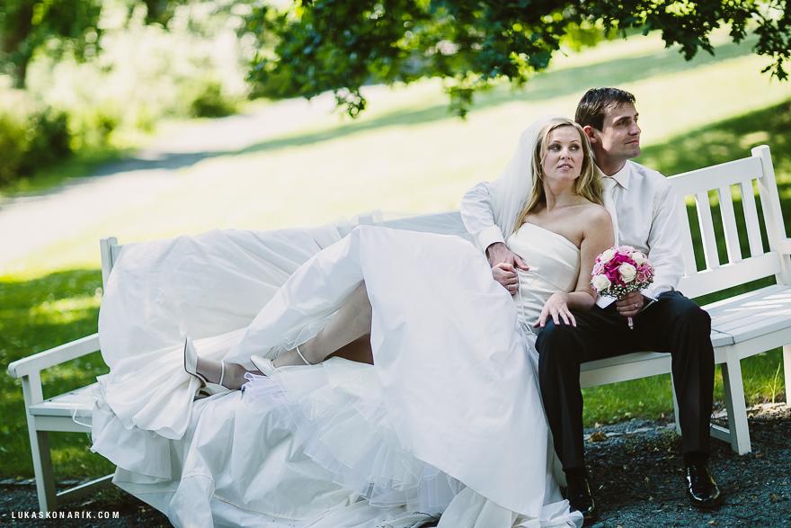 nejlepší svatební fotografie zámek Kozel