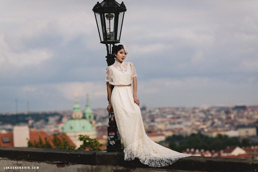 předsvatební fotografie v Praze