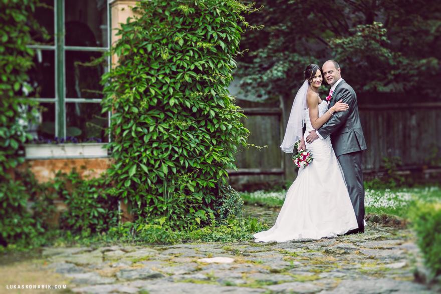 svatební fotografie na zámku Úsobí