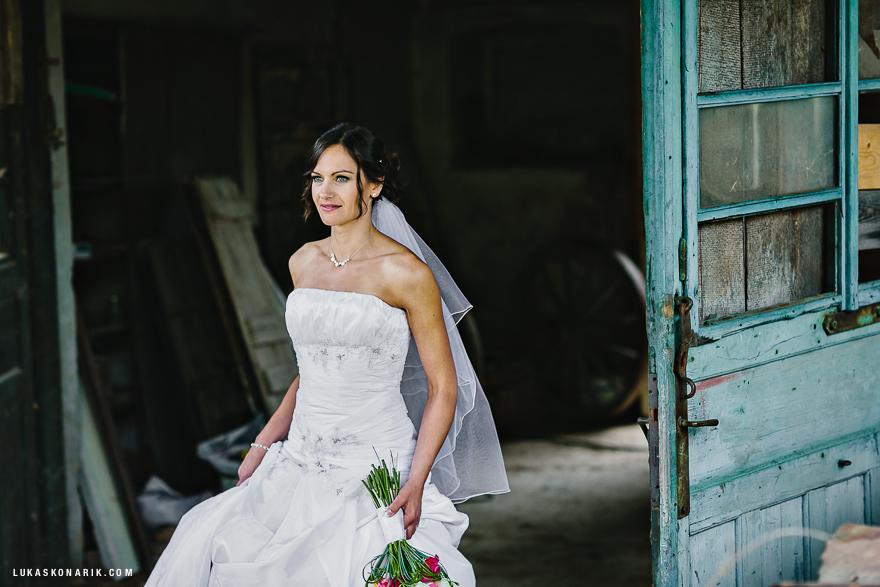 náhderná nevěsta na zámku Úsobí