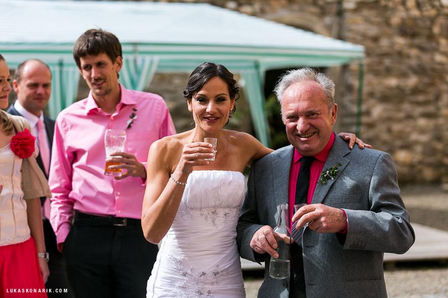 svatební veselí na zámku Úsobí