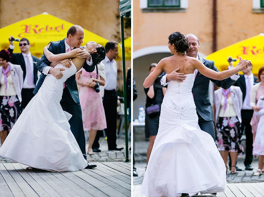 svatební tanec na zámku Úsobí