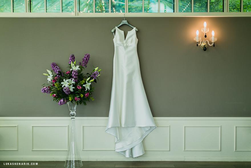svatební šaty v rezidenci Liběchov