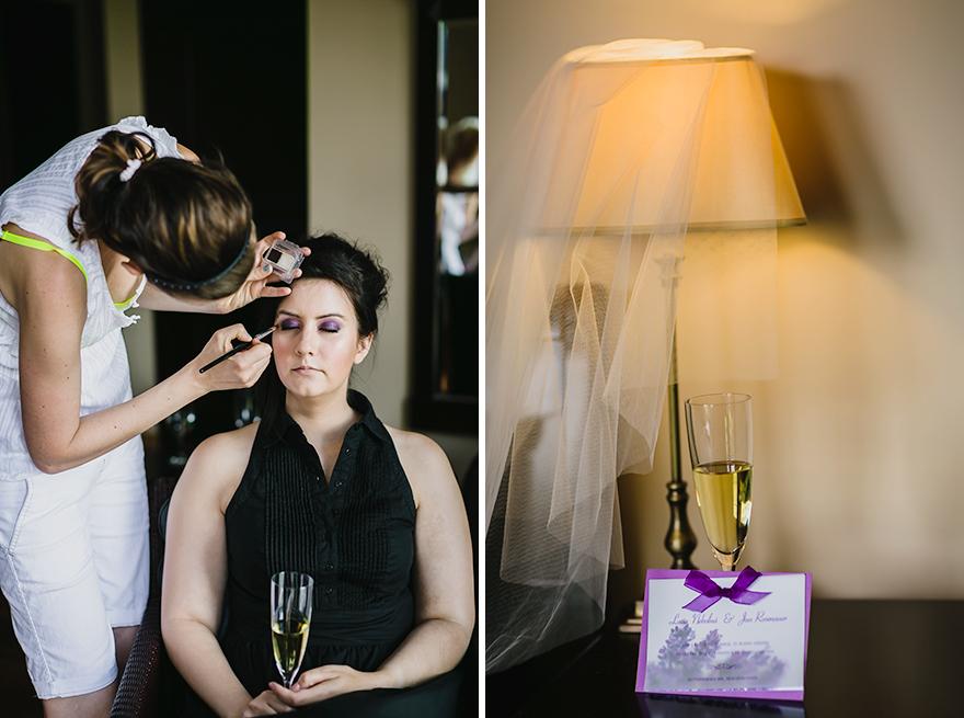 svatební příprava v rezidenci Liběchov