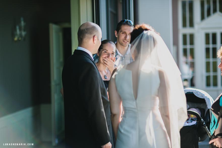 momenty ze svatby v rezidenci Liběchov