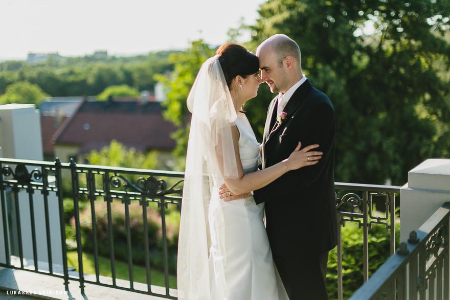 zamilovaný pár v Liběchově
