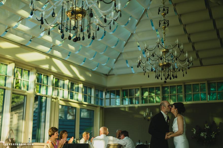 svatební zábava v oranžerii rezidence Liběchov