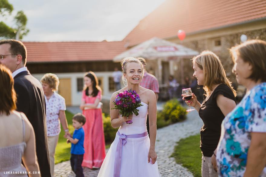 momenty ze svatby