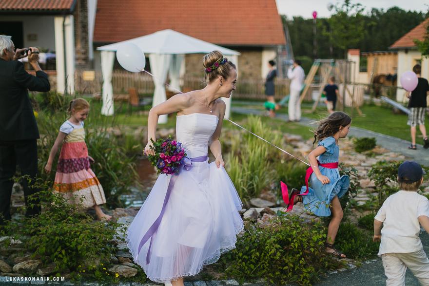 nejkrásnější momenty ze svatby