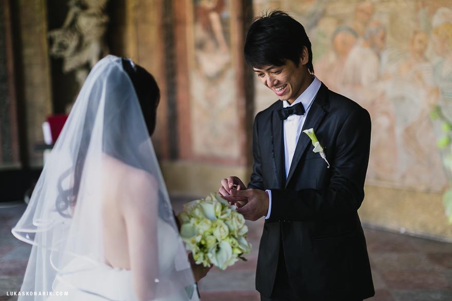 svatební fotografie ve Vrtbovské zahradě