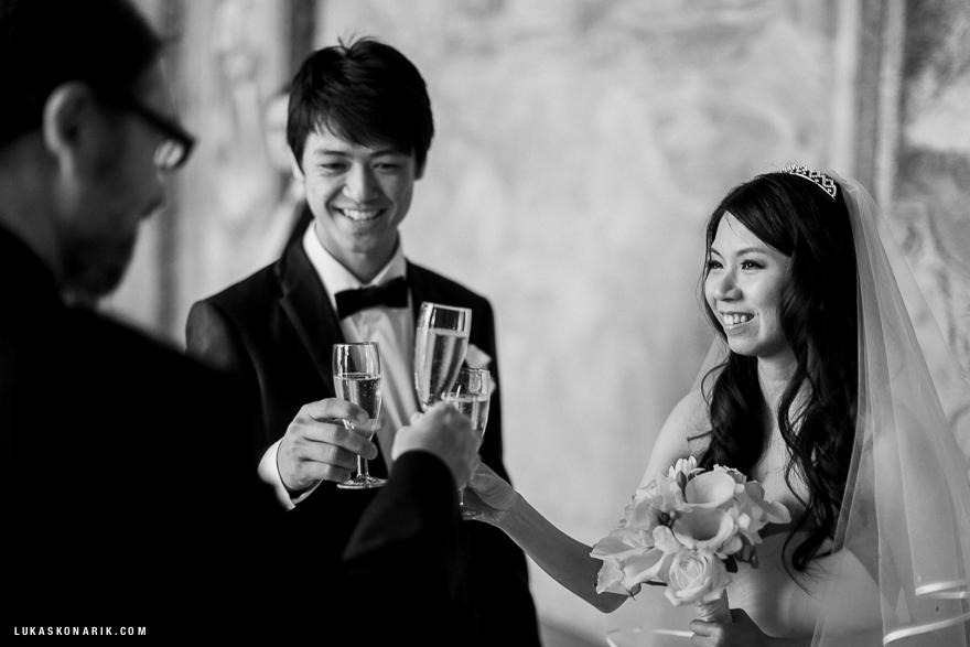 svatební obřad ve Vrtbovské zahradě