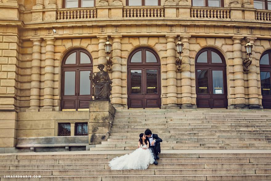 svatební fotografie Rudolfinum