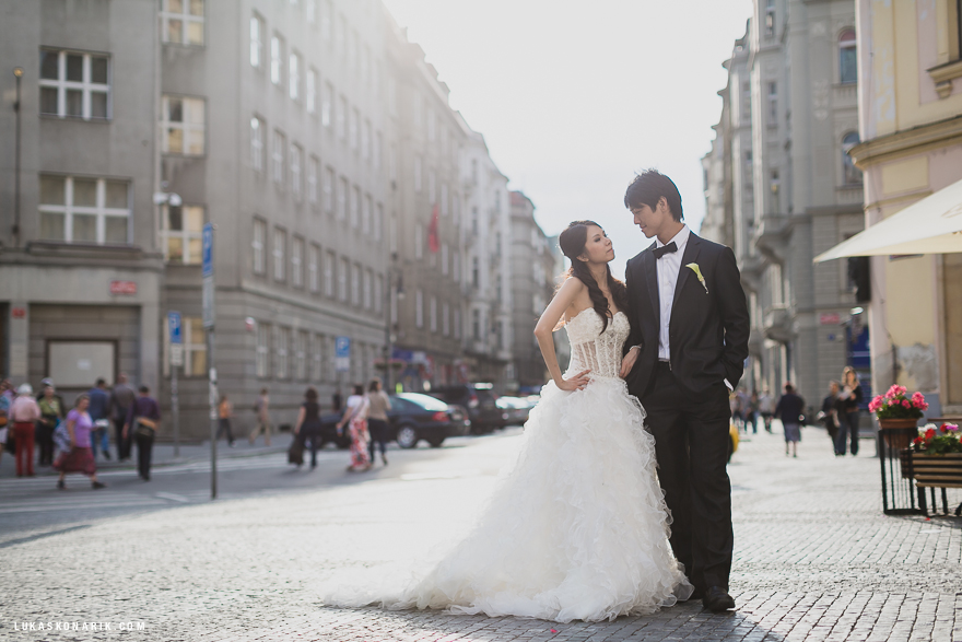 svatbení fotografie Praha