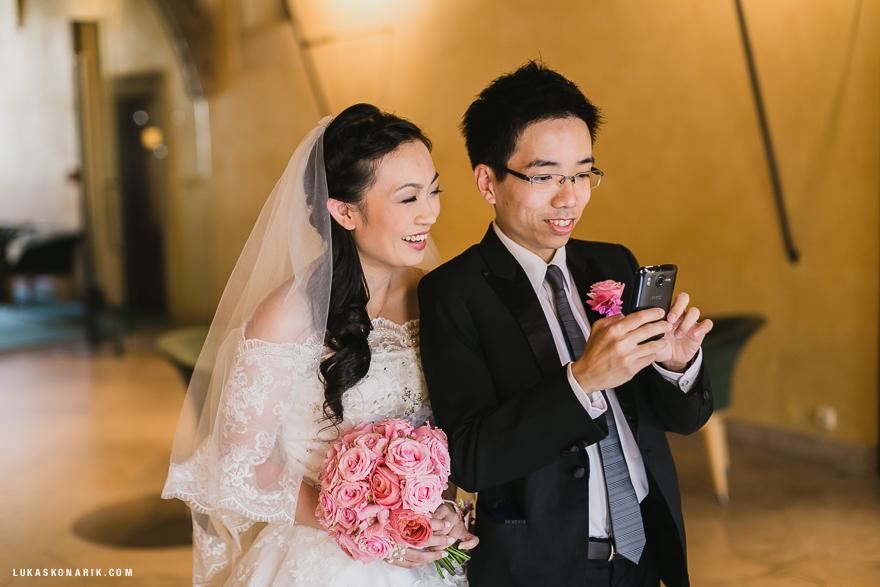svatba na Staroměstské radnici v Praze