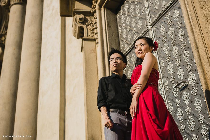 úžasná svatební fotografie v Praze
